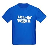 Life is Better Vegan T