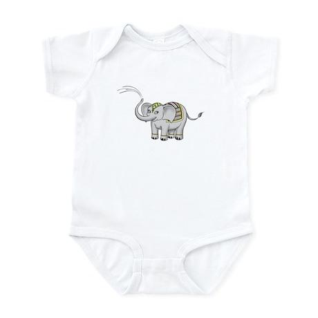 India Elephant Infant Bodysuit