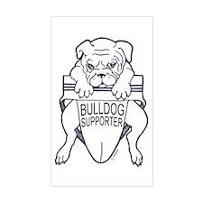 Bulldog Supporter Decal