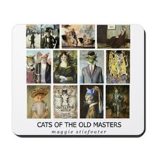 Cats of the Old Masters Mousepad