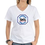 Chicago PD Motor Unit Women's V-Neck T-Shirt