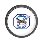 Chicago PD Motor Unit Wall Clock