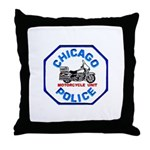 Chicago PD Motor Unit Throw Pillow