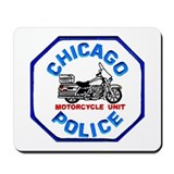 Chicago PD Motor Unit Mousepad