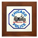 Chicago PD Motor Unit Framed Tile