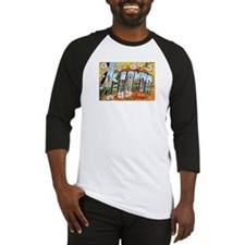 Atlanta Georgia Postcard Baseball Jersey