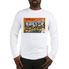 Boston Postcard Long Sleeve T-Shirt