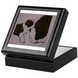 Cute Bernard Keepsake Box