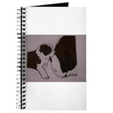 Cute Saint bernard Journal