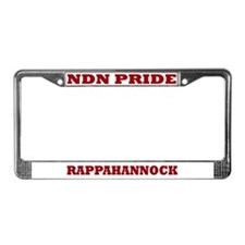 Rappahannock NDN Pride License Plate Frame