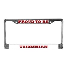 Proud to Be Tsimshian License Plate Frame
