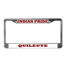 Indian Pride Quileute License Plate Frame