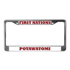 First Nations Potawatomi License Plate Frame
