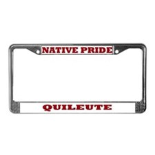 Native Pride Quileute License Plate Frame