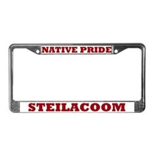Native Pride Steilacoom License Plate Frame