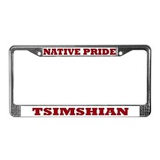 Native Pride Tsimshian License Plate Frame