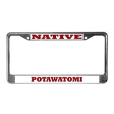 Potawatomi Native License Plate Frame