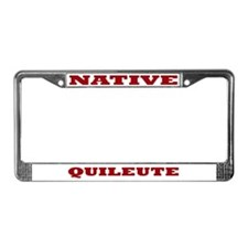 Quileute Native License Plate Frame