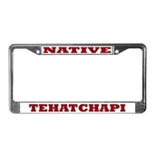 Tehatchapi Native License Plate Frame