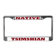 Tsimshian Native License Plate Frame
