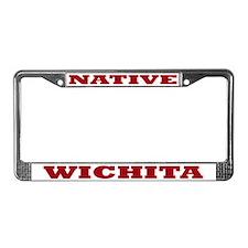 Wichita Native License Plate Frame