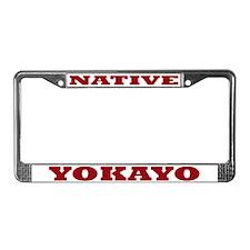 Yokayo Native License Plate Frame