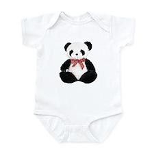Cute Stuffed Panda Infant Bodysuit