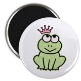 "Frog Princess 2.25"" Magnet (100 pack)"