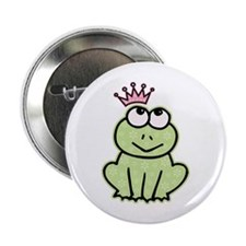 "Frog Princess 2.25"" Button (10 pack)"