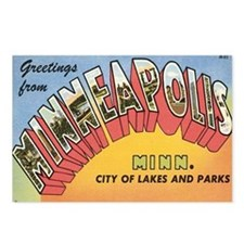 Minneapolis Postcard Postcards (Package of 8)