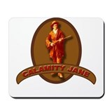 Calamity Jane Wild West Hero Mousepad