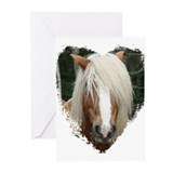 Haflinger Greeting Cards (Pk of 10)
