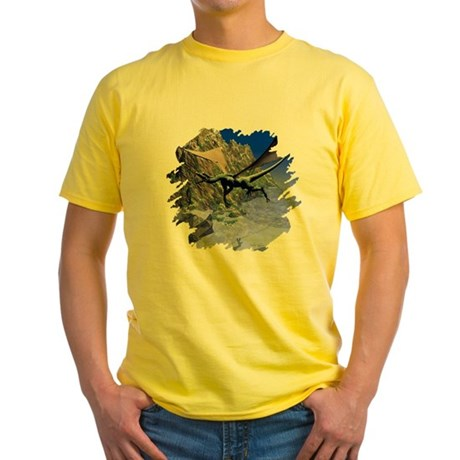 Flying Dragon Yellow T-Shirt