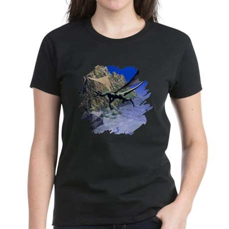 Flying Dragon Women's Dark T-Shirt