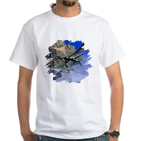 Flying Dragon White T-Shirt