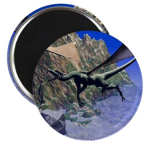 "Flying Dragon 2.25"" Magnet (10 pack)"