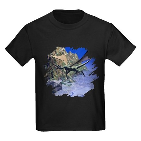 Flying Dragon Kids Dark T-Shirt