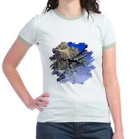 Flying Dragon Jr. Ringer T-Shirt