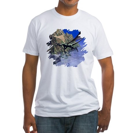 Flying Dragon Fitted T-Shirt