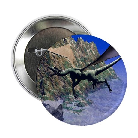 "Flying Dragon 2.25"" Button (10 pack)"