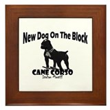 Cane Corso New Dog Framed Tile