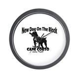 Cane Corso New Dog Wall Clock