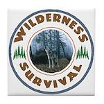 Wilderness Survival Tile Coaster