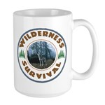 Wilderness Survival Large Mug