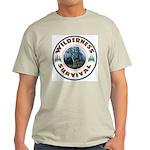 Wilderness Survival Ash Grey T-Shirt
