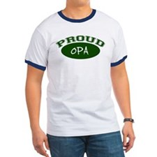 Proud Opa (green) T