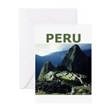 PERU Greeting Card