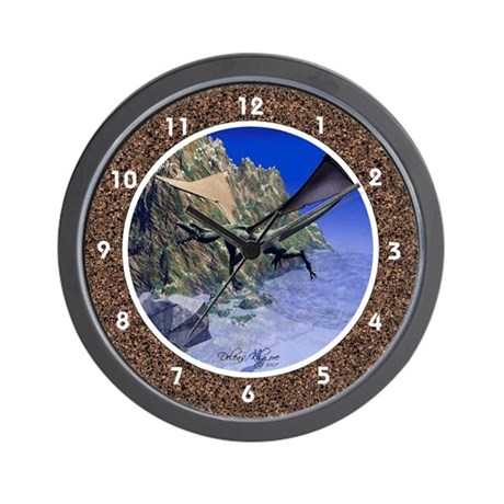 Flying Dragon Wall Clock