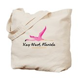 Key West Flamingo - Tote or Beach Bag