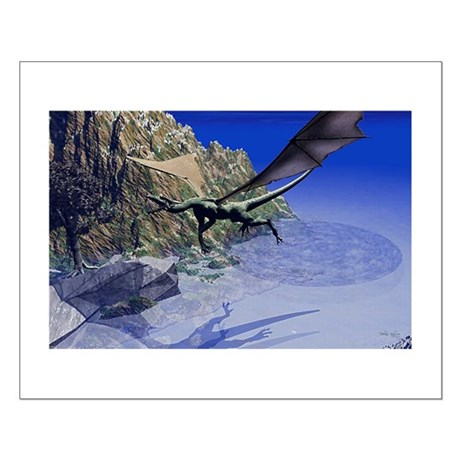 Flying Dragon Small Poster